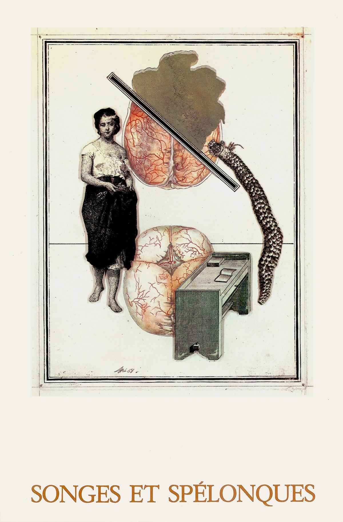 Songes et spélonques, Marcel Thiry, André de Rache éditeur, Bruxelles 1973. Archives Le Yaouanc